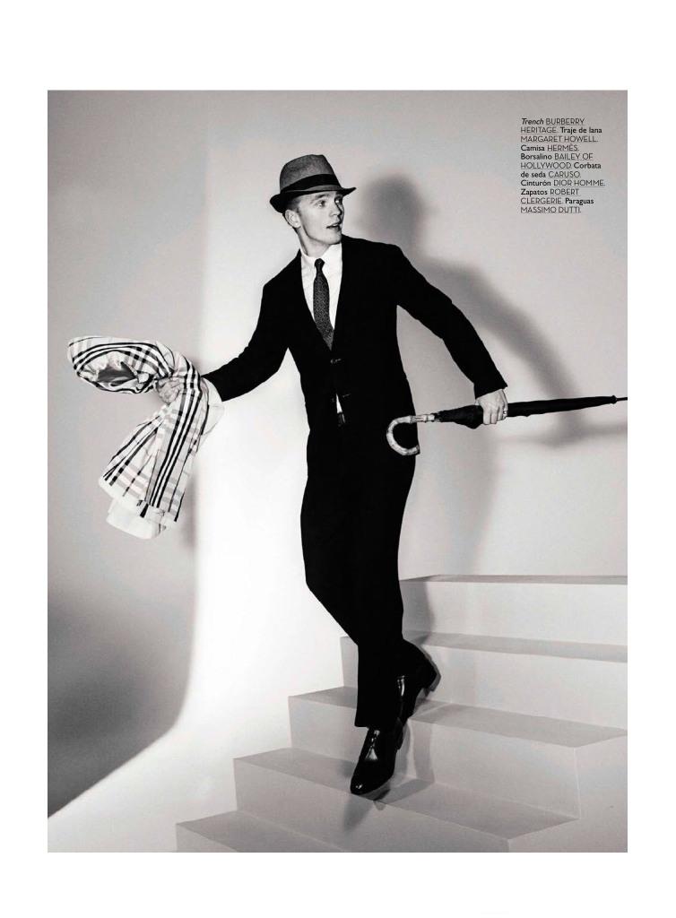 Benjamin Eidem as Sinatra GQ Spain3