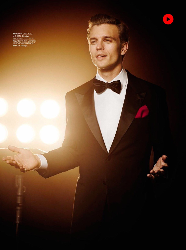 Benjamin Eidem as Sinatra GQ Spain9