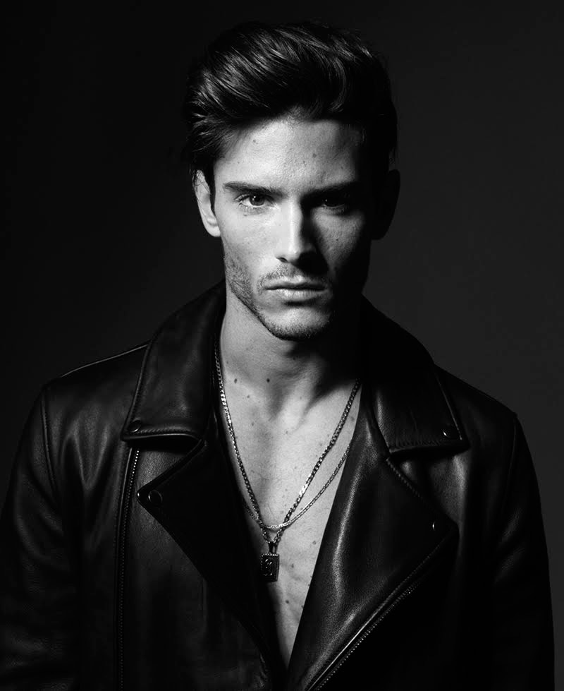 Okay, just take a moment to enjoy this new snaps in black and white of handsome male model Diego Barrueco captured and styled by Joseph Sinclair. Grooming: Lauren Kay.