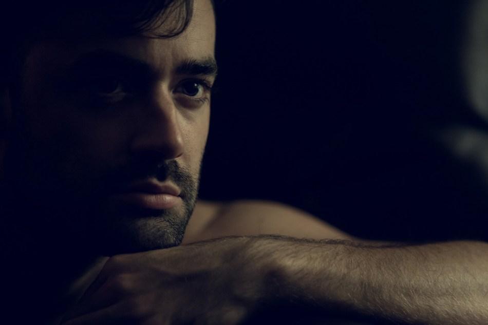 Dark captures by photographer Ángel Ruiz presenting Gian Sofa.