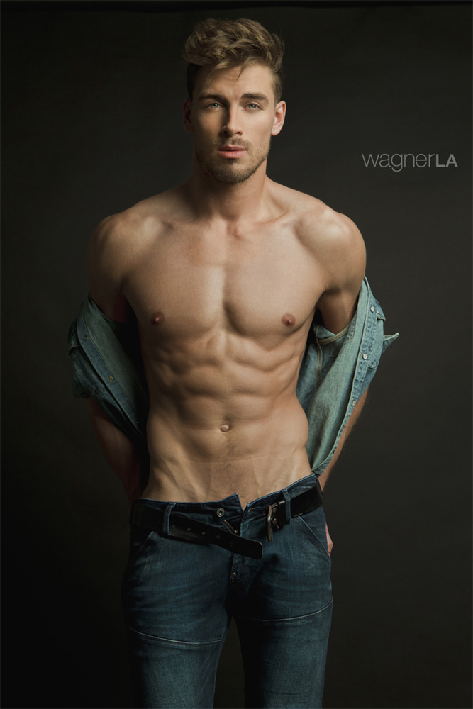 He's Dima Gornovskyi in a photography by David Wagner969