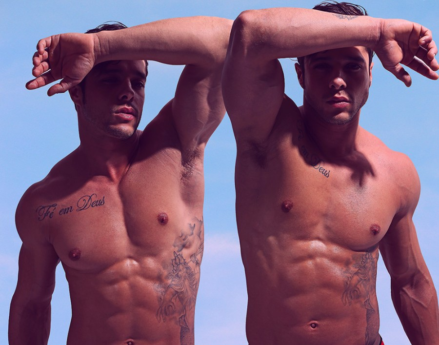 Stunner fit newcomer connected with photographer Karim Konrad once in November, and they did this. Iconic strong new images.