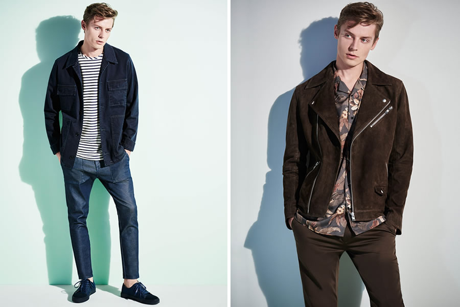 River Island released its Spring/Summer 2016 Men's Collection starring by Janis Ancens, colorful and graceful garments looking forward for this coming season.