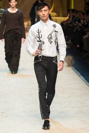 Dolce Gabbana FW 16 Milan (3)