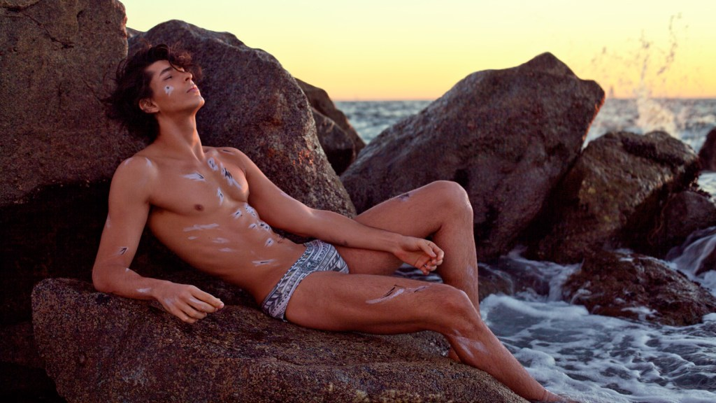 Stunning new images with International model, Marcio Camargos by JONO Photography. This shoot was styled by Tyler McDaniel with latest pieces from Mr. Triple X. In addition with Hair/Makeup by, Timothy Ro.