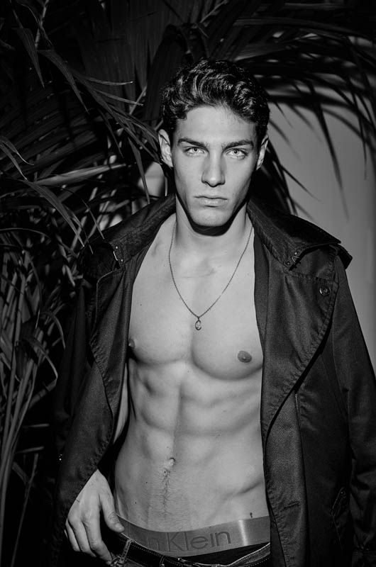Sight Management Model Mario Zabal in a Portrait Series by Miguel Angel at Sight Model Lounge. Location: Hotel chic&basic Born, Barcelona.