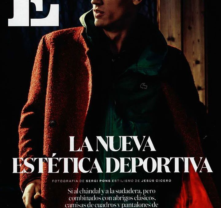 Top model Nicolas Ripoll (View Management) stars an editorial for El País latest issue. The model is photographed by fashion photographer Sergi Pons and styled by Jesus Cicero.