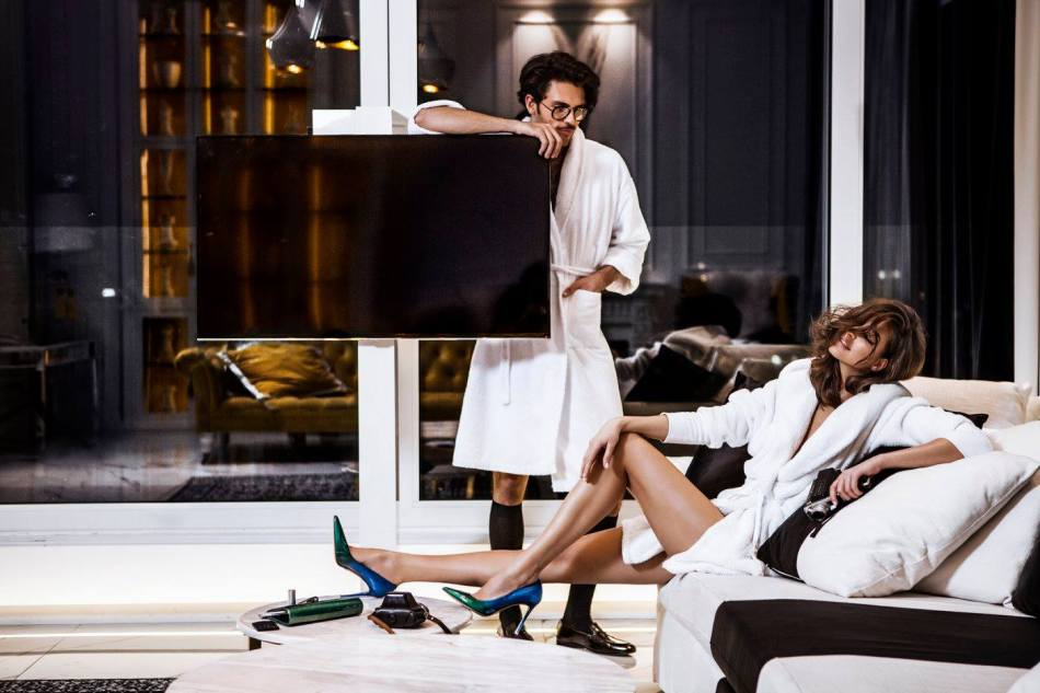 Il Passo shooting Campaign S/S 2016 by Creative Director & Photographer Tibi Clench, modeling by Ana Stefanescu & Silviu Tolu from Allure Management, Styling by Amir Dobos & Magda Mohamed. Video: Alex Nelu Make-up: Jenny Matea Hair: Cristina Gheara