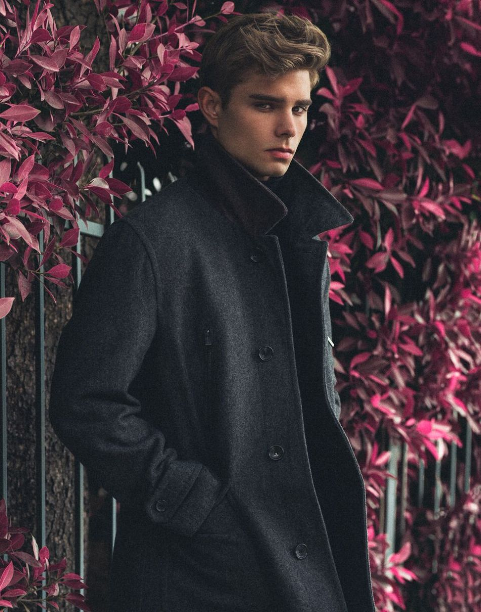 Gorgeous actor/model Sean Stahlnecker stars in this elegant shoot in Los Angeles by fast-rising NYC-based photographer Brian Jamie. Sean is originally from Phoenix, Arizona, and now LA-based with Wilhelmina LA. Sean has become quite popular with his Hollywood good looks and winning personality. We expect a big 2016 for him. Brian photographs some of the hottest male models in the world, and has a wonderful reputation and instant rapport with those models whom he shoots.