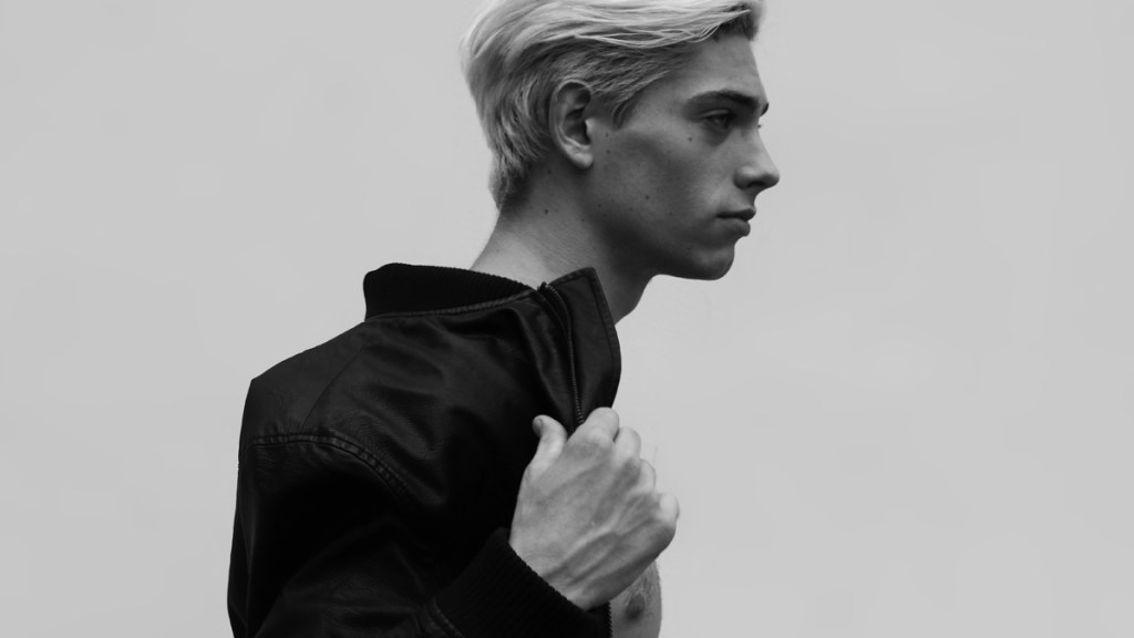 Fantastical portrait by photographer Daniel Benjamin shooting whits male model Victor Steensig from Denmark, now based in Manila Philippines, strong new face with 20yo, and he's available for any international agency.