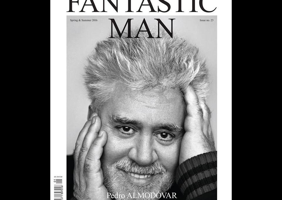 Gloriously presenting Fantastic Man no. 23, the new issue featuring the singular cineaste PEDRO ALMODÓVAR on the cover, photographed by ALASDAIR McLELLAN. The handsome issue will be available for purchase in London from 22 April, 2016. #PedroAlmodóvar #FM23 #FantasticMan