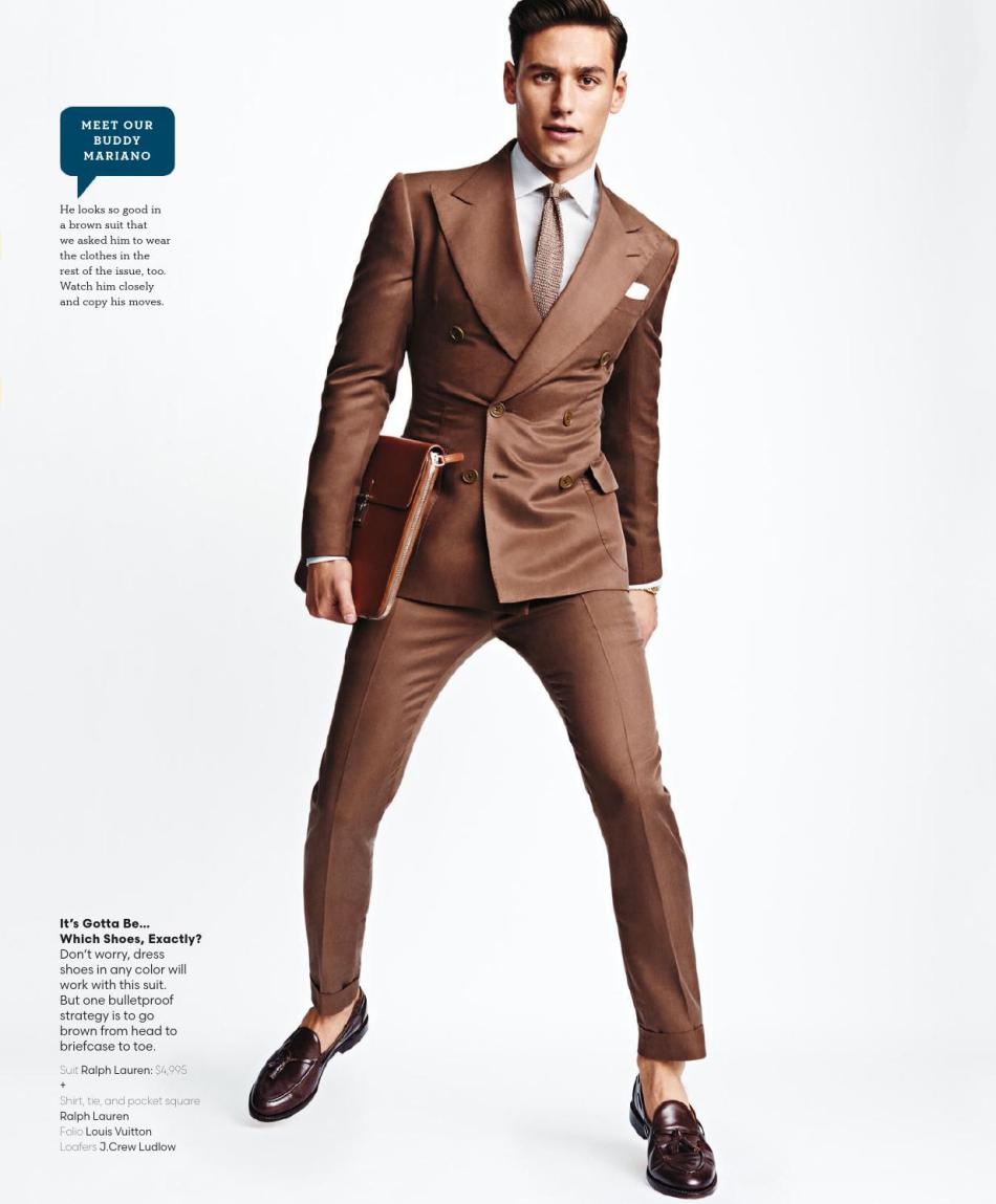 What to wear now? well in the new GQ Style USA Spring 2016 featuring model Mariano Ontañón tells you how to. Photography by Tom Schirmacher and Styled by Kelly McCabe, the issue is now on the stands.