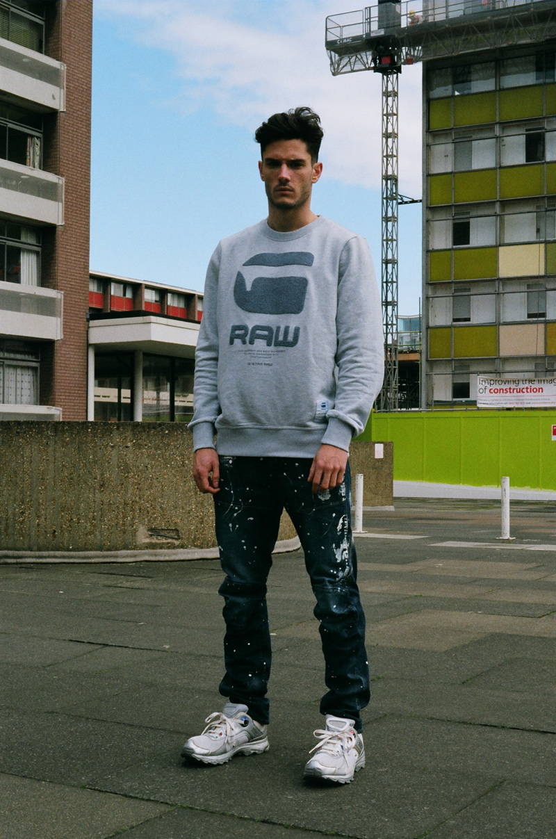 Exclusive for Fuckingyoung! Spanish sensation Fiego Barrueco gets a big shout out plus an interview with FuckingYoung! and styled in G-Star Raw denim. Check out.