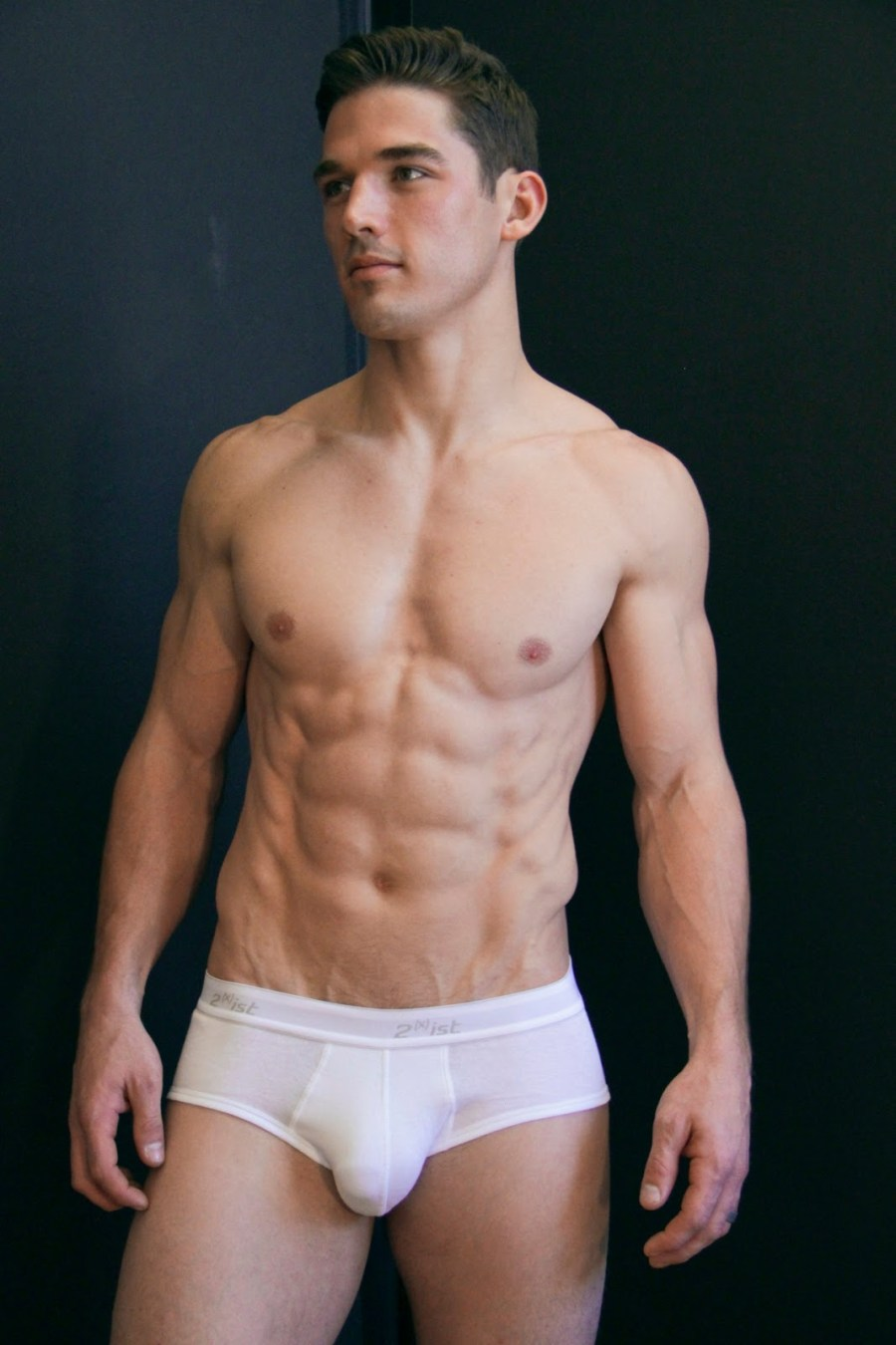 A much leaner Kerry Degman stops by the studio of photographer Shameer Khan for a fresh portrait session.