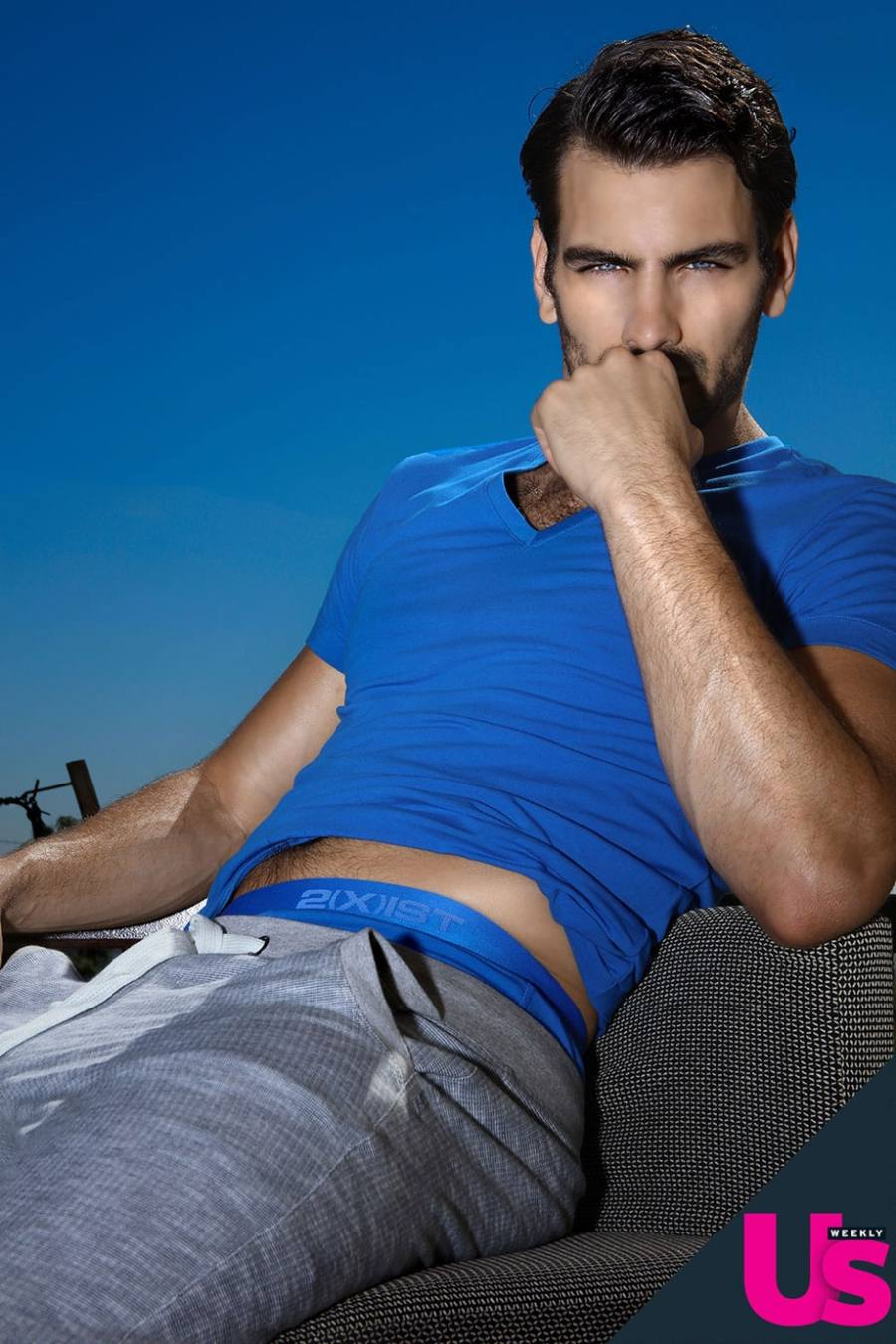 Nyle DiMarco is a man of many accomplishments: He's an America's Next Top Model winner, current Dancing With the Stars contestant and 2(X)IST underwear's new brand ambassador. (Hot damn!) Scroll to see Us Weekly's exclusive sneak peek at his campaign. And make sure to check the label's Twitter and Instagram pages (handle: @official2xist) for more sexy pics the upcoming months!