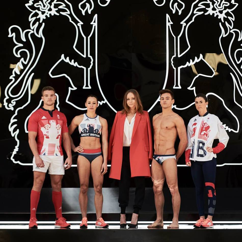 Introducing the #TeamGB and #ParalympicsGB 2016 kit designed by Stella and adidas. A ground-breaking range of performance wear, combining the very latest in technical innovation with our signature modern design aesthetic. Union flag hues sit alongside bold textures and modern silhouettes to create a strong sense of identity.