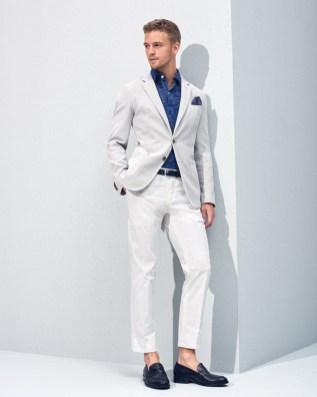 Fresh new items on the boat, Tommy Hilfiger Spring/Summer 2016 Lookbook modeling by Benjamin Eidem.