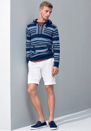 Fresh new items on the boat, Tommy Hilfiger Spring/Summer 2016 Lookbook modeling by Benjamin Eidem.