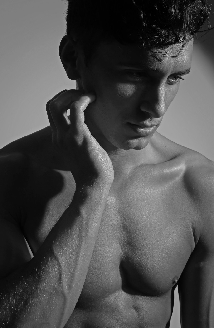 Are you ready to jump? We'd like to introduce you Canadian Model/Actor Barret Coates a dynamic, strong person including so much attitude, aesthetically captured by Karim Konrad exclusive and exposing for the very first time.