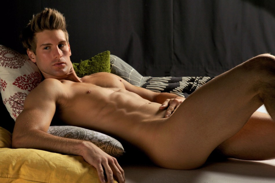 Model Ross Cook, 24, is NYC-based and originally from rural Illinois, near St. Louis.