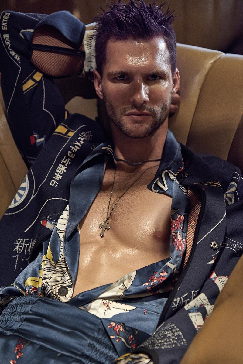 Super model Tomas Skoloudik empowers the new issue of GQ Portugal May 2016 now on stands, captured by Photographer/GQ Lighthouse publishing talented Branislav Simoncik and styled by Fashion Director Jan Kralicek.