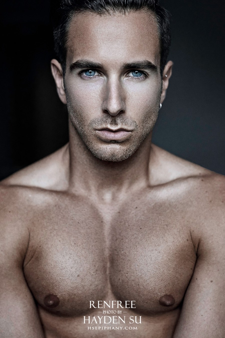 Aaron Renfree by Hayden Su for Fashionably Male