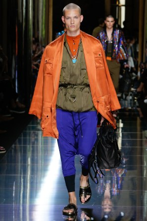 BALMAIN MENSWEAR SPRING SUMMER 2017 PARIS (22)