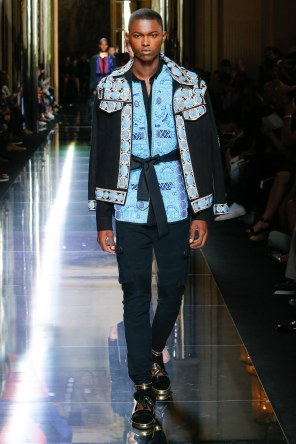 BALMAIN MENSWEAR SPRING SUMMER 2017 PARIS (59)