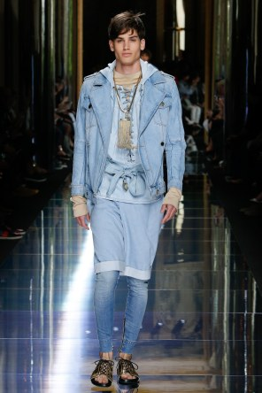 BALMAIN MENSWEAR SPRING SUMMER 2017 PARIS