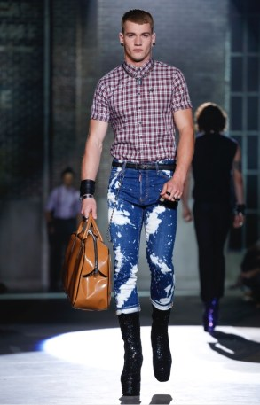 DSQUARED2 MENSWEAR SPRING SUMMER 2017 MILAN (8)