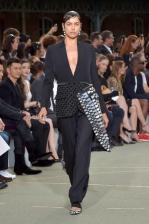 Irina Shayk on the catwalk