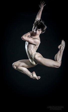 Javier Cacheiro by Carlos Quezada for The Male Dancer Project
