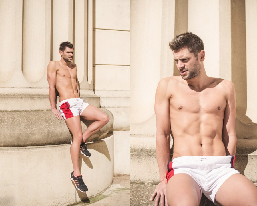 For this photoshoot, I took Thomas to the district of Antigone in Montpellier where I wanted to portray him as a sports god the location has many elements that can recall the Antiquit