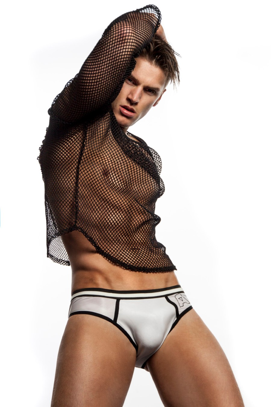 Allan Vos is changing his way of designing fashion, starting with this exclusive capsule collection. Allan no longer brings large collections based on seasons but decided to focus on swimwear, underwear and sportswear that can be worn 365 days a year.
