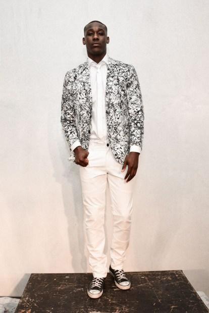 Mandatory Credit: Photo by Aurora Rose/REX/Shutterstock (5754854ch) Model on the Catwalk Artistix with Andy Hilfiger Presentation, Spring Summer 2017, New York Fashion Week: Men's, USA - 11 Jul 2016
