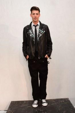 Mandatory Credit: Photo by Aurora Rose/REX/Shutterstock (5754854ae) Model on the Catwalk Artistix with Andy Hilfiger Presentation, Spring Summer 2017, New York Fashion Week: Men's, USA - 11 Jul 2016