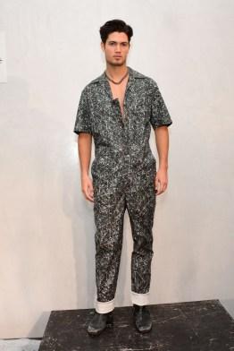 Mandatory Credit: Photo by Aurora Rose/REX/Shutterstock (5754854at) Model on the Catwalk Artistix with Andy Hilfiger Presentation, Spring Summer 2017, New York Fashion Week: Men's, USA - 11 Jul 2016