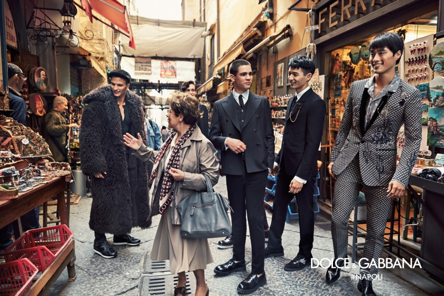 Dolce&Gabbana's Fall Winter 2016-2017 advertising campaign shot by international world reporter Franco Pagetti who shot conflicts in Afghanistan, Kosovo and Libya.