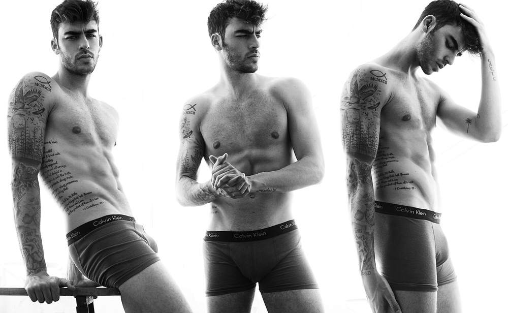 Yes I love the thought of hearing this with you, stunning exclusive work photographed by Miguel Zaragozá featuring sexy male model Jesus Palacios a beauty 24yo inked model.