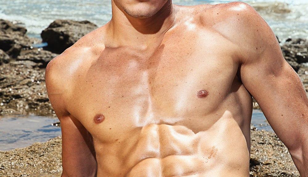 Cadiz Beach session with fitness model Miguel shot by LM Gómez Pozo