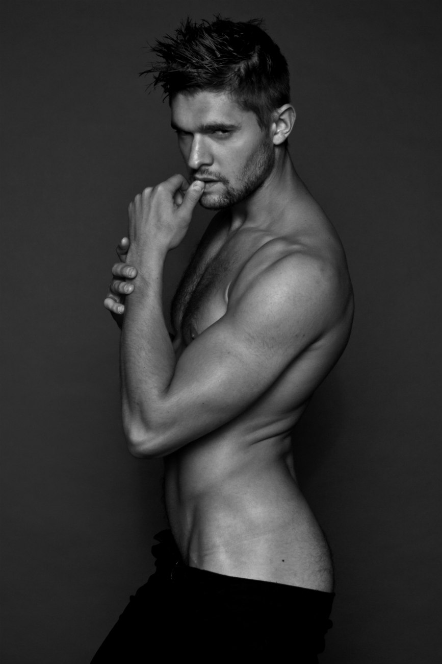 Before we move on to this coming weekend, let's meet hottest AF model Anthony Parker shot by Sandy Lang