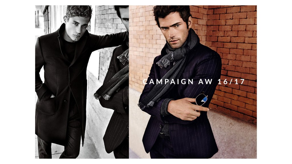 Massimo Dutti united forces for new Advertising with la crème dela crème Top model Sean O'Pry and Steven Chevrin, featuring models Ine Neefs Army and Julia Hafstrom, photographed by Master Mario Testino, styled by Beat Bolliger and hair by Christiaan.