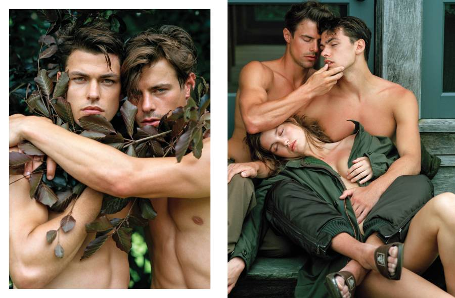 VMAN reunites talentes Photographer Bruce Weber and stylist Paul Cavaco for September 2016 Issue.