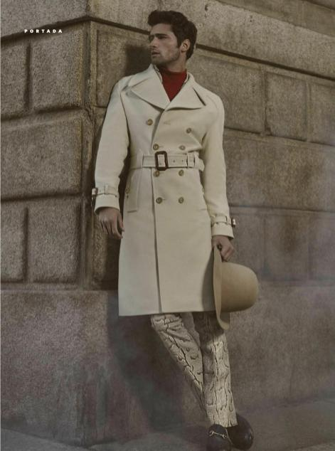 'Episode Milanese' Top model graces the new fashion editorial and cover magazine GQ Style Mexico F/W 2016, photographed by Luca Maria Morelli, Styling by Fernando Carrillo, Art direction by Alessandro Maria Morelli. Styling is perfectly done, we feeling really odd about editing in sepia tones, photography and styling are nailed it.