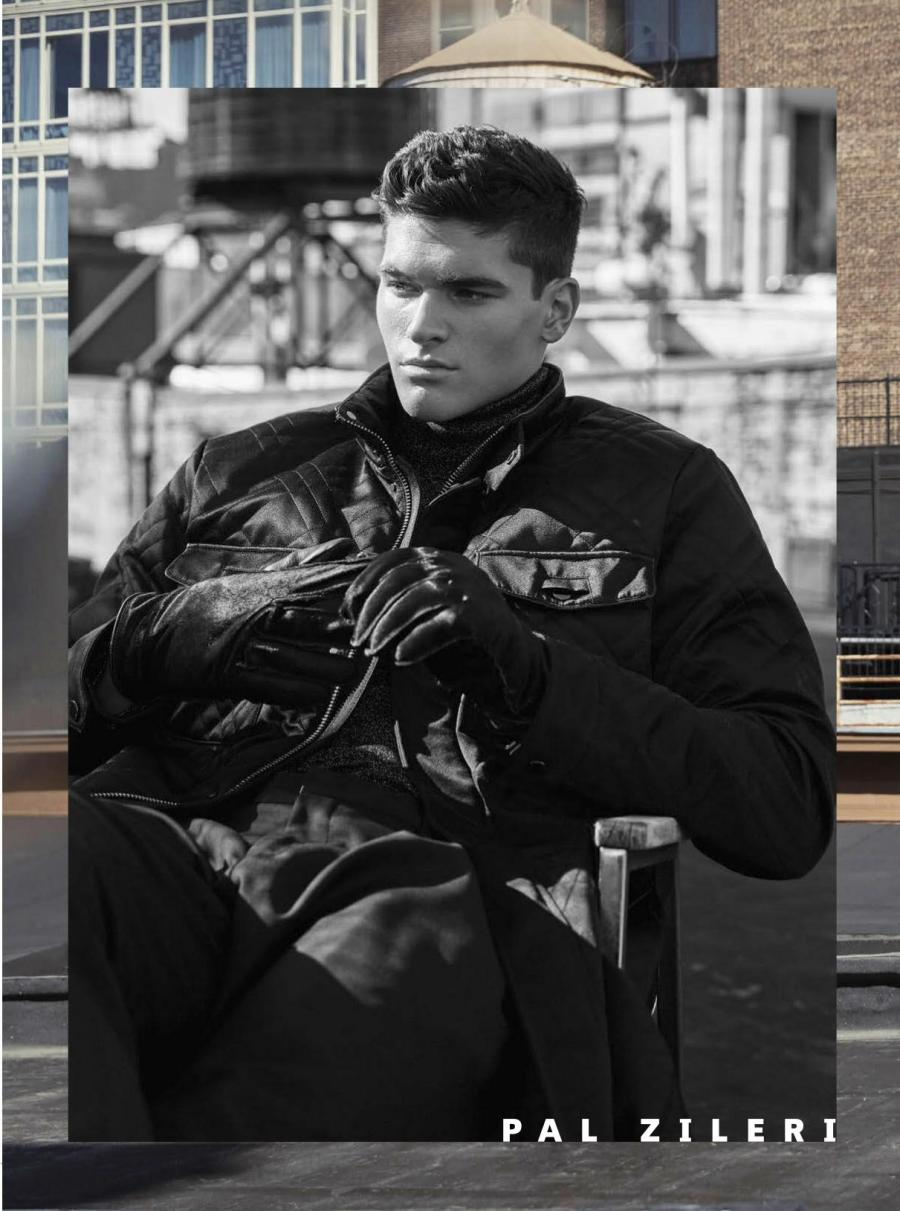 Models Trevor Signorino and Mariano Ontañón takes over Manhattan and walks through this perfect escenario to explore looks from F/W 2016 Collections.