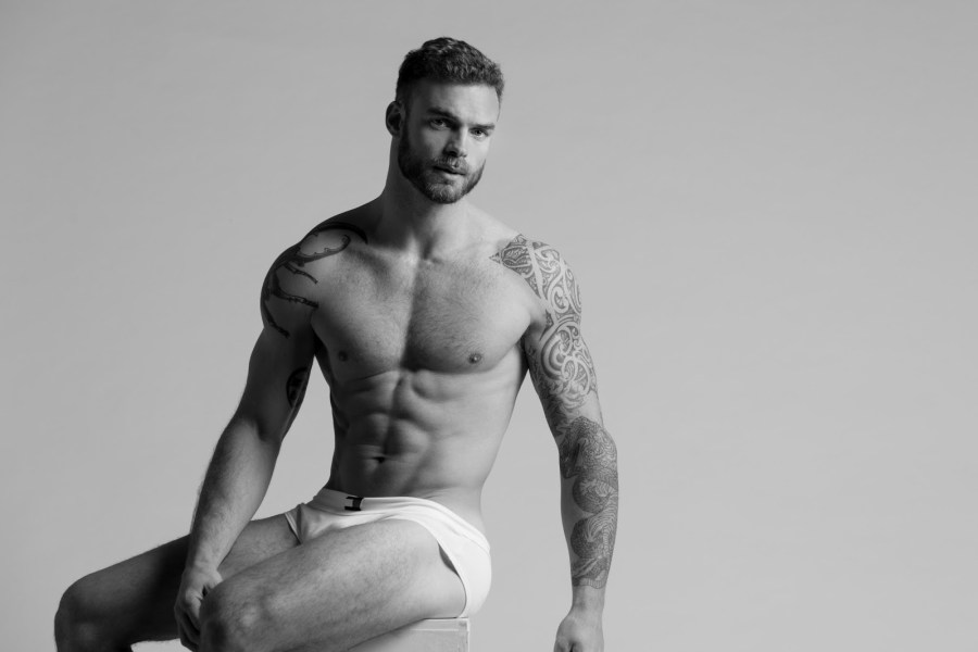 """This is all that we ever needed, this is all you ever want it: Meet Argentine adonis Santiago Romeo in """"Time and Nothingness"""", by Paraguay photographer Raul Villalba."""
