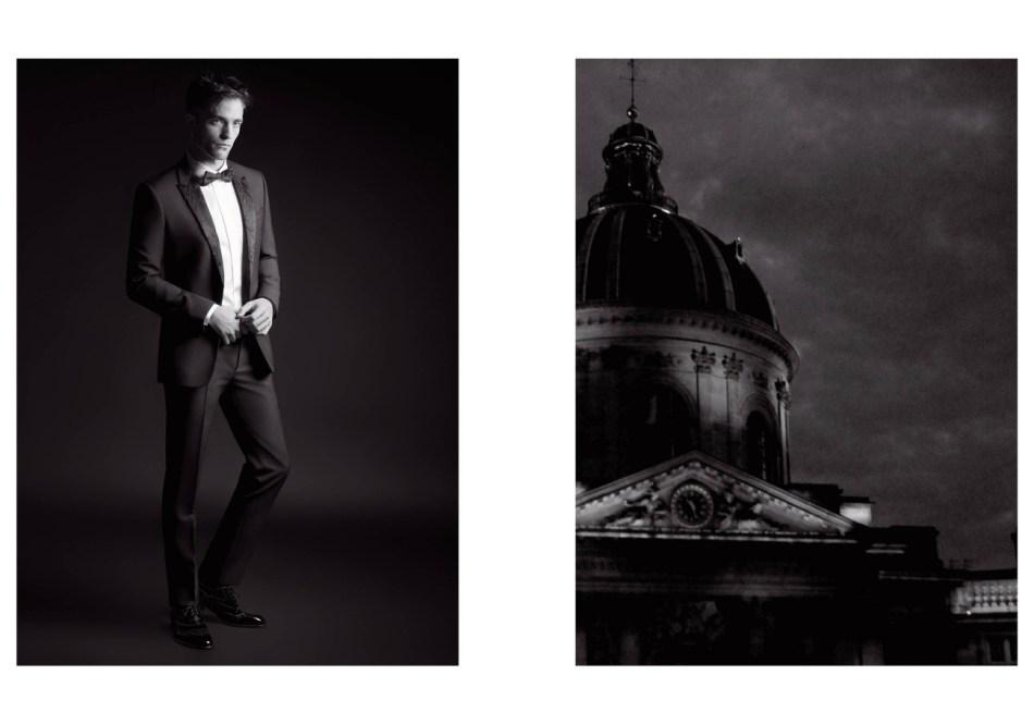 Dior Homme Black Carpet Fall 2017: Robert Pattinson by Karl Lagerfeld2