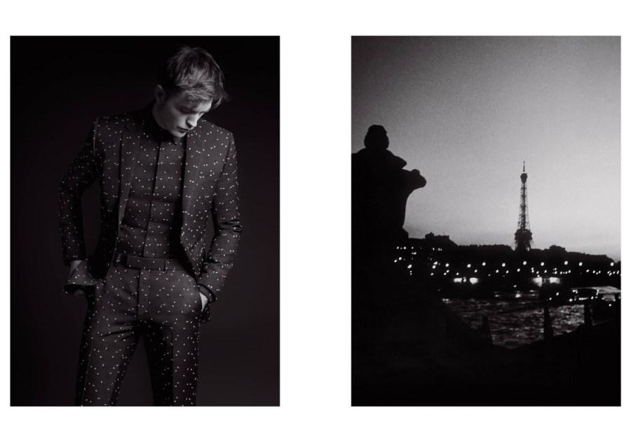 Dior Homme Black Carpet Fall 2017: Robert Pattinson by Karl Lagerfeld3