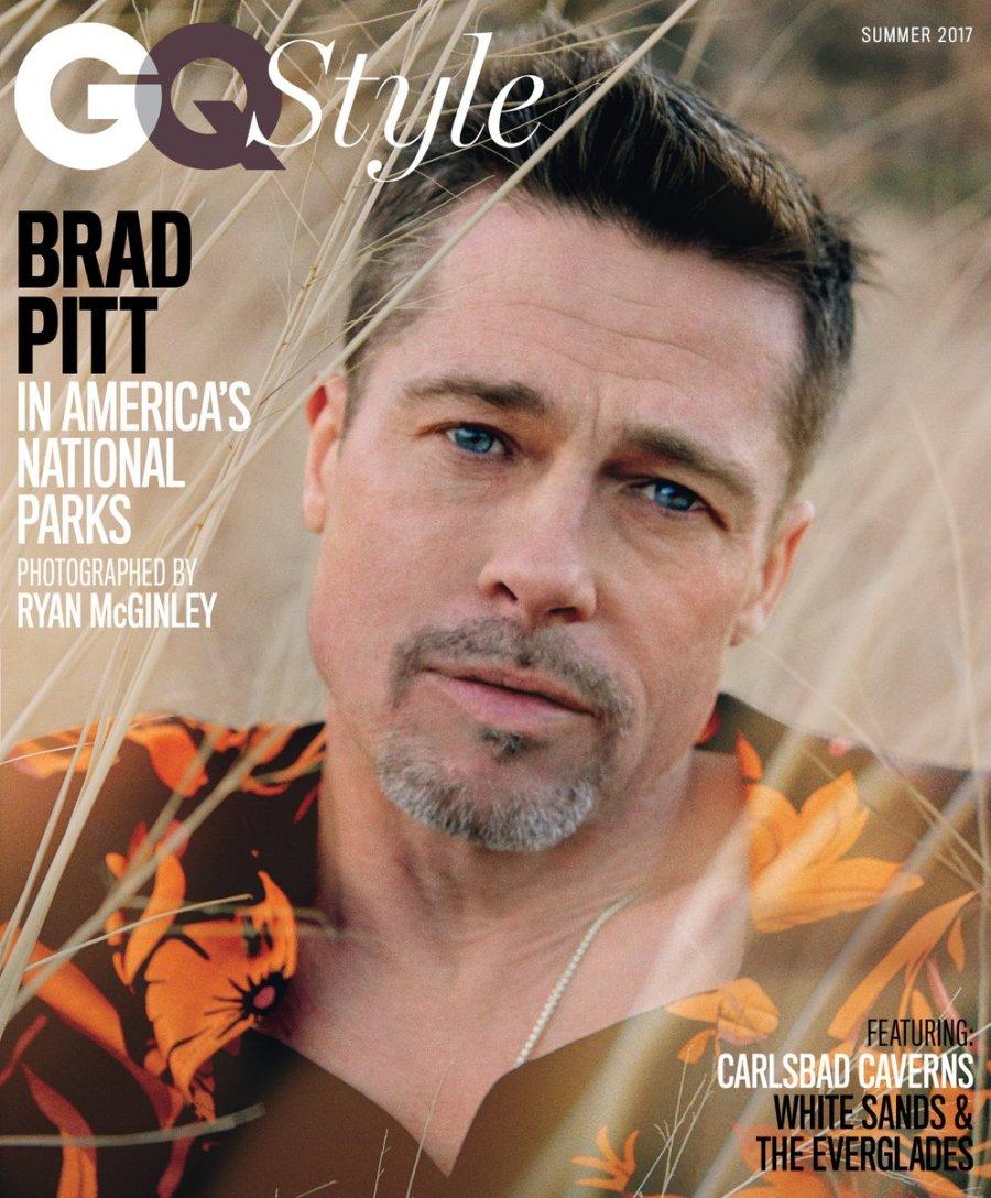 US GQ Style Summer 2017 : Brad Pitt by Ryan McGinley1