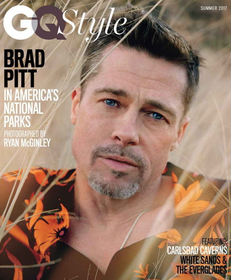 US GQ Style Summer 2017 : Brad Pitt by Ryan McGinley1